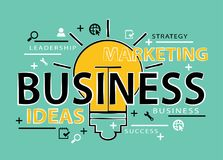 Business marketing strategy concept Royalty Free Stock Image