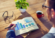 Business Marketing Strategy Design Ideas Working Concept Stock Photography