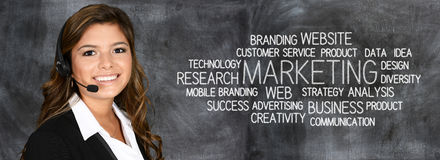 Business Marketing stock image