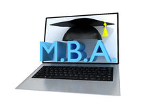 Business Master Degree Concept Stock Images