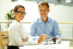 Business matters Royalty Free Stock Photo