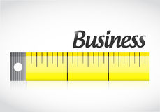 Business measure concept illustration design Stock Images