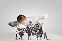 Business mechanisms Royalty Free Stock Image