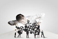 Business mechanisms Stock Photos