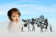Business mechanisms Royalty Free Stock Images