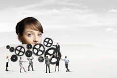 Business mechanisms Royalty Free Stock Photo