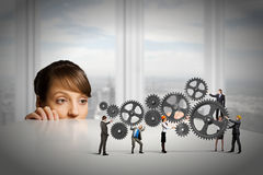 Business mechanisms Stock Images