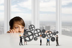 Business mechanisms Stock Photo