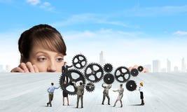 Business mechanisms Stock Image