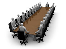 Business - Meeting Royalty Free Stock Photos