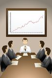Business Meeting. Group of businessmen having meeting Stock Photos