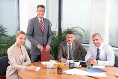 Business meeting Royalty Free Stock Photo