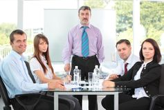 Business meeting. In an office Royalty Free Stock Images