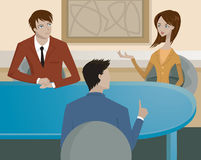 A business meeting Stock Images