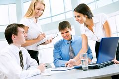 Business meeting Royalty Free Stock Images