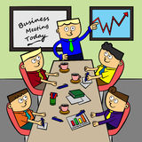 A business meeting Royalty Free Stock Photo