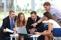 Business meeting. Business team in business meeting Royalty Free Stock Image