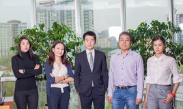 Business meeting Asian nationality people. Business meeting. Asian nationality male and woman, teamwork Stock Photo