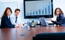 Business meeting at board room Stock Photos