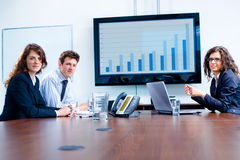 Business meeting at board room Royalty Free Stock Photo