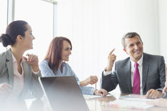 Business meeting in boardroom Royalty Free Stock Image