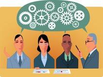 Business meeting or brainstorm Stock Photos