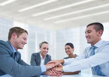 Business meeting in bright office Stock Photography