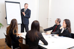 Business meeting: business people in the office Royalty Free Stock Photography