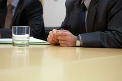 Business meeting,businessmen working in the office stock photo