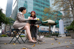 Business Meeting in the City Stock Images