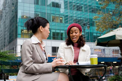 Business Meeting in the City Royalty Free Stock Image