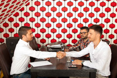 Business meeting collaboration Stock Image