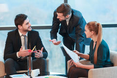 Business meeting with colleagues Stock Photography