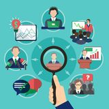 Business Meeting Speaker Concept Stock Images