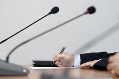 Business meeting conference Stock Image