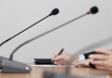 Business meeting conference Royalty Free Stock Photography