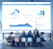 Business Meeting Conference Corporate Collaboration Concept.  Royalty Free Stock Photography