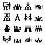 Business meeting & Conference icon Royalty Free Stock Image