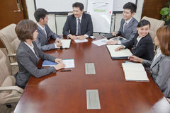 Business Meeting in a Conference Room Stock Photography