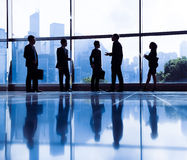 Business meeting Corporate White Collar Worker Office.  Stock Images