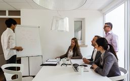 Business meeting in a cozy environment Royalty Free Stock Photography