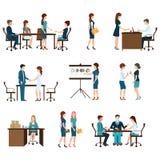 Business meeting design. Stock Image