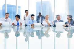 Business Meeting Discussion Decision Concept Royalty Free Stock Photo