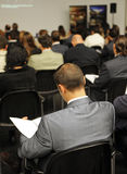 Business meeting, Exhibition and Congress Center of Sevilla, Spain Royalty Free Stock Photography