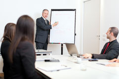 Business meeting: group of businesspeople at work Stock Photo