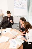 Business meeting - group of people in office Royalty Free Stock Photos