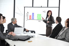 Business meeting - group of people Royalty Free Stock Photography