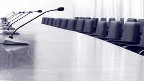 Business meeting hall Royalty Free Stock Image