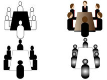 Business meeting icon Stock Photography