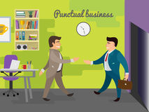Business meeting illustration Royalty Free Stock Image